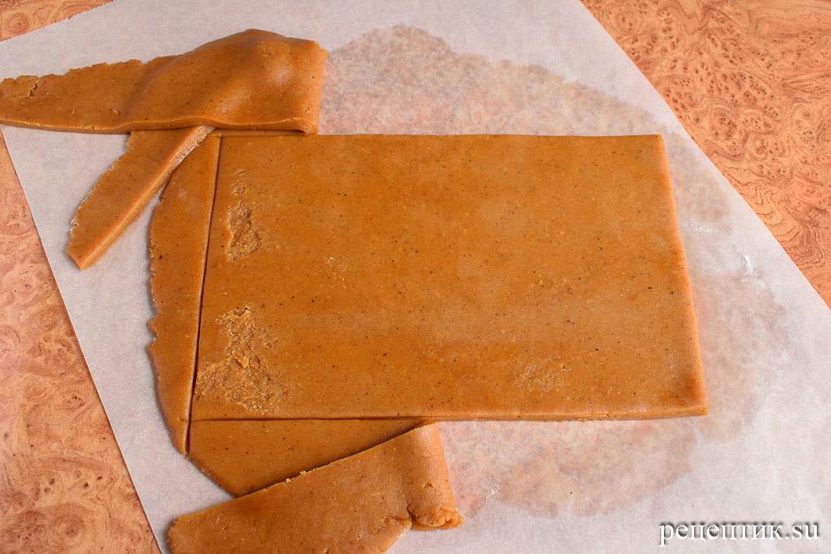 Новогодняя пряничная открытка - рецепт с фото, шаг 3