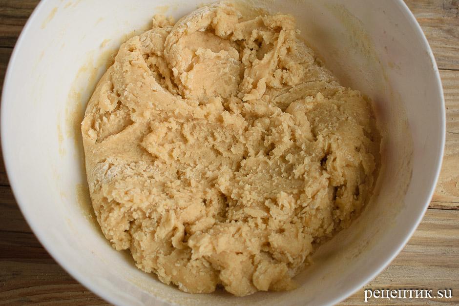 Мягкие медовые пряники с начинкой и лимонной глазурью - рецепт с фото, шаг 6