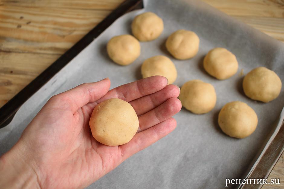 Мягкие медовые пряники с начинкой и лимонной глазурью - рецепт с фото, шаг 8