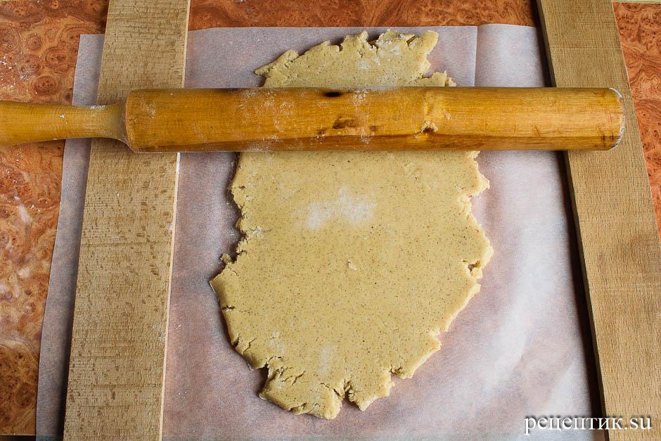 Расписные медовые пряники с цветной сахарно-белковой глазурью - рецепт с фото, шаг 4