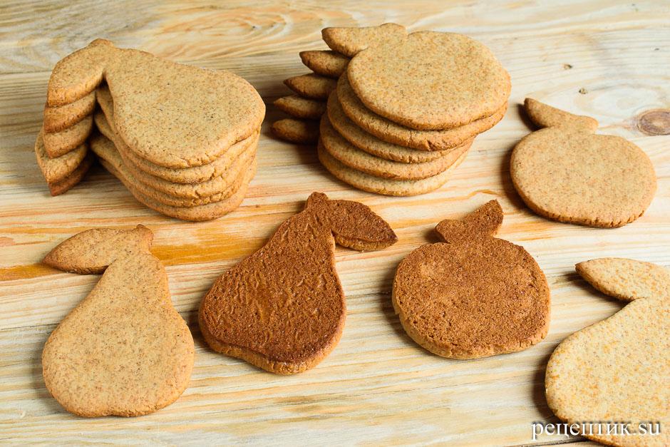 Расписные медовые пряники с цветной сахарно-белковой глазурью - рецепт с фото, шаг 8