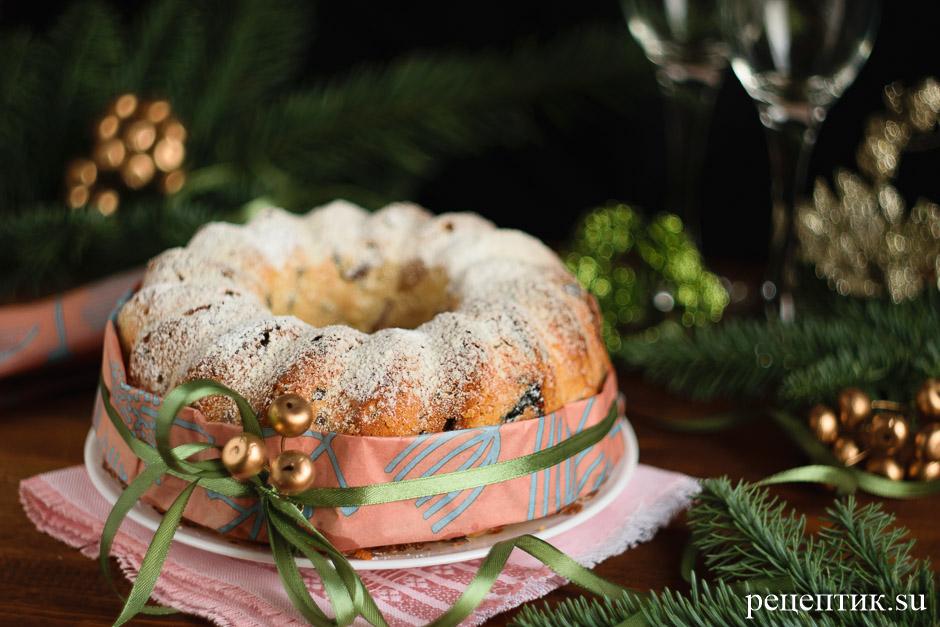 Английский рождественский кекс с сухофруктами - рецепт с фото, результат