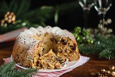 Английский рождественский кекс с сухофруктами