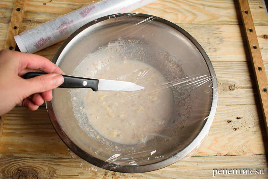 Рождественский штоллен – традиционный немецкий дрожжевой кекс - рецепт с фото, шаг 7