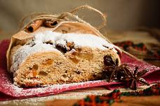 Рождественский штоллен – традиционный немецкий дрожжевой кекс