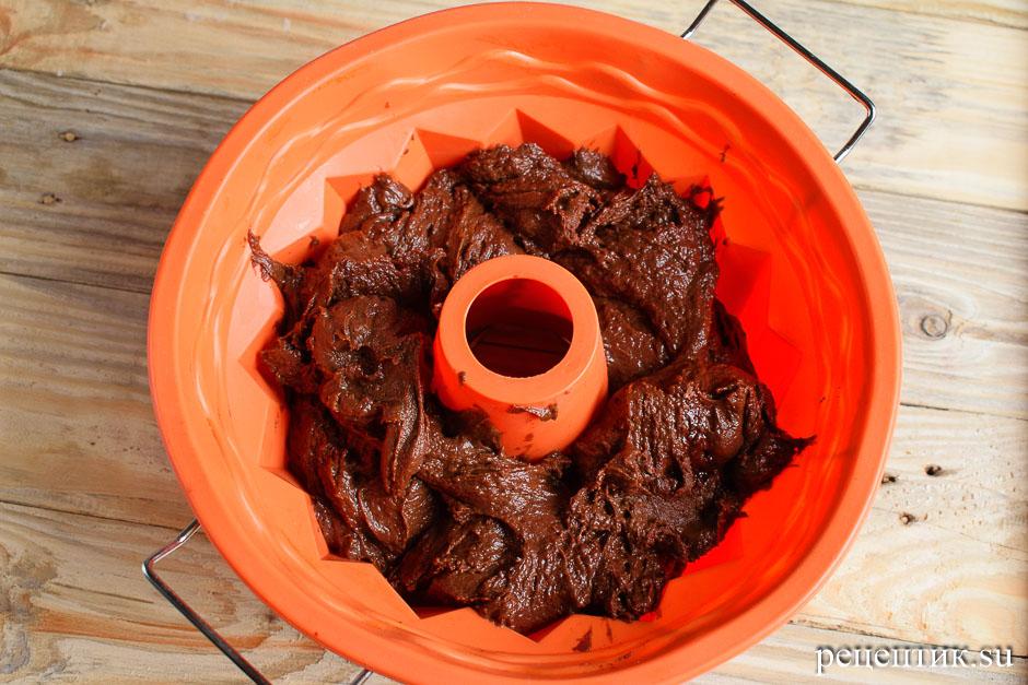Простой шоколадный кекс с какао - рецепт с фото, шаг 7