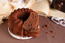 Простой шоколадный кекс с какао