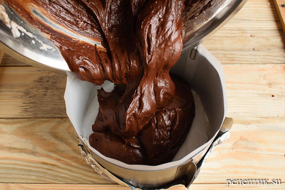 Торт «Шоколадный трюфель» - рецепт с фото, шаг 10