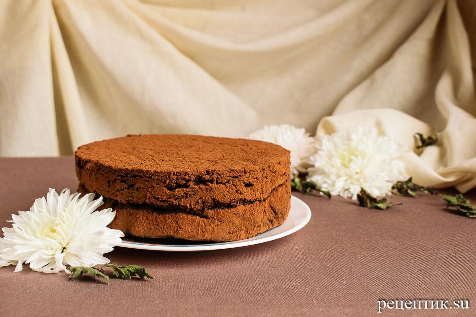 Торт «Шоколадный трюфель» - рецепт с фото, результат