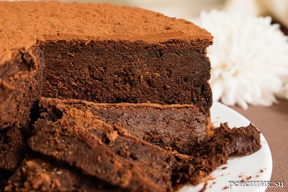 Торт «Шоколадный трюфель» - рецепт с фото