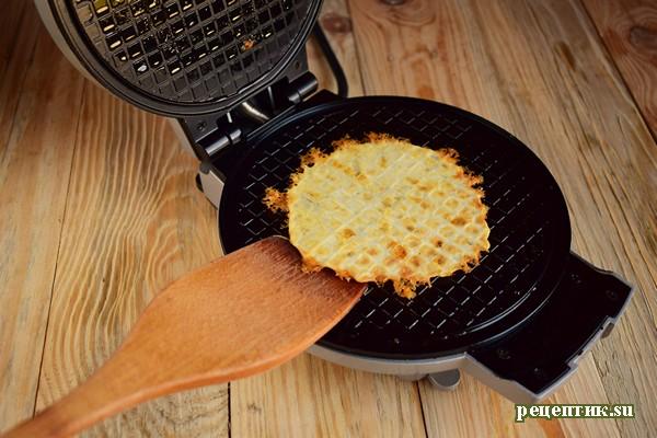 Сырные вафли - рецепт с фото, шаг 6