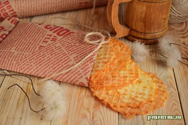 Сырные вафли - рецепт с фото, результат
