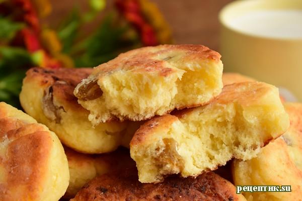 Вкусные сырники с изюмом - рецепт с фото