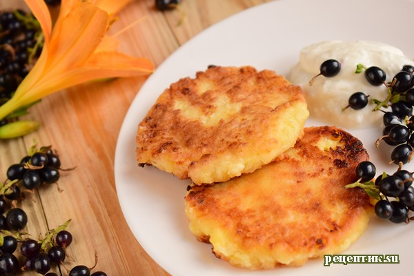 Мягкие сырники на сковороде - рецепт с фото