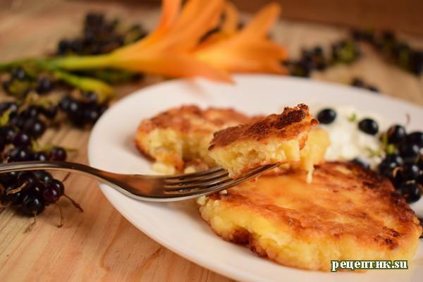 Мягкие сырники на сковороде - рецепт с фото, результат