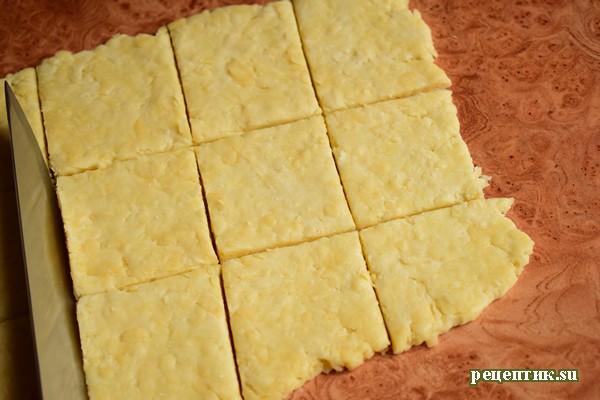 Сырное печенье - рецепт с фото, шаг 7