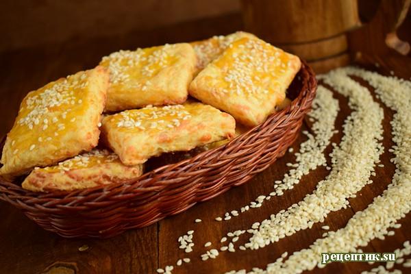 Сырное печенье - рецепт с фото