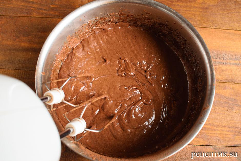 Сладкая шоколадная колбаска из печенья - рецепт с фото, шаг 4