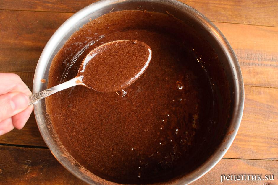 Сладкая шоколадная колбаска из печенья - рецепт с фото, шаг 5