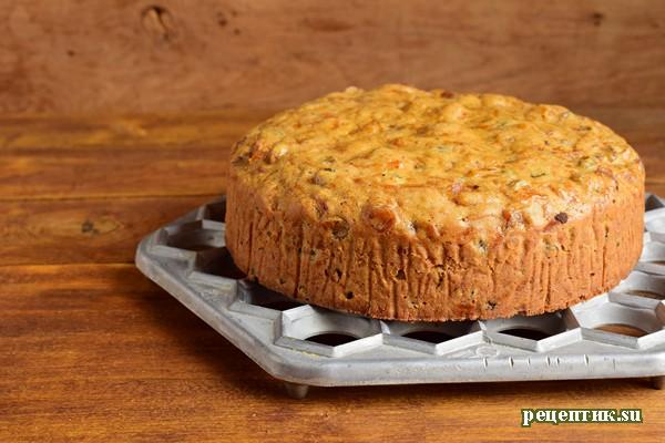 Тыквенный торт с изюмом и сливочным сыром - рецепт с фото, шаг 14