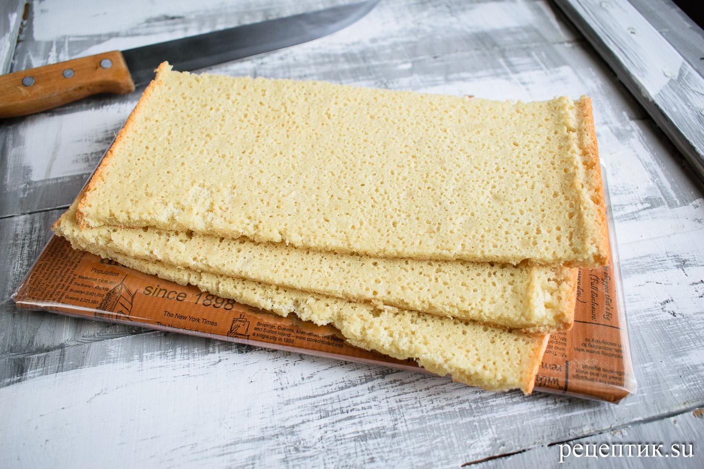 Торт «Опера» — классический французский десерт - рецепт с фото, шаг 9