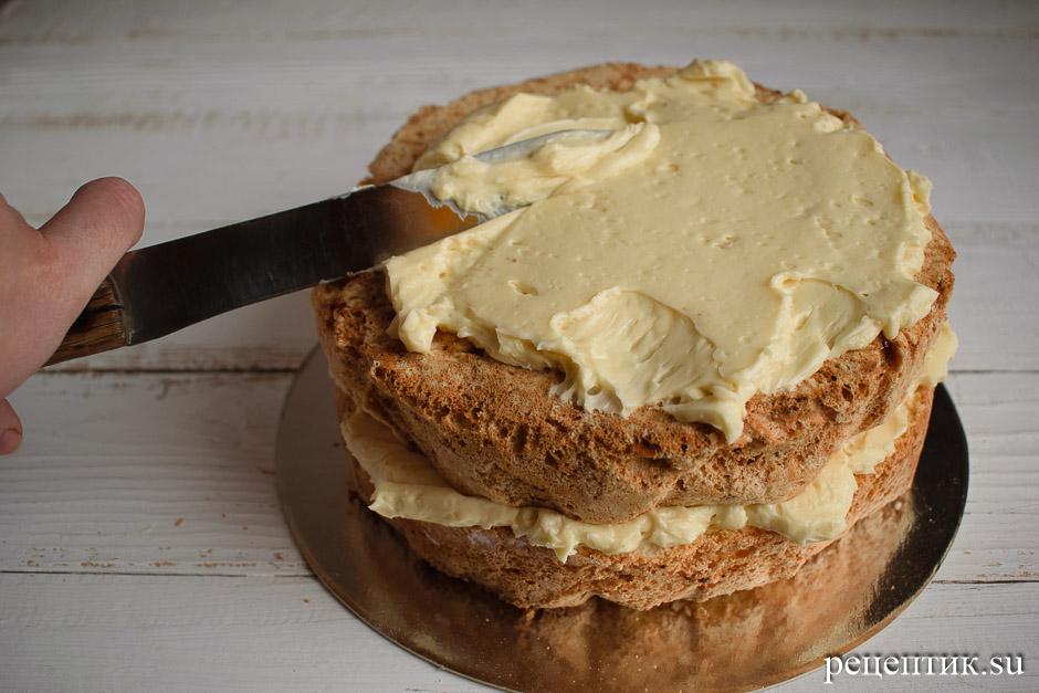 Торт «Рафаэлло» в домашних условиях – очень вкусный и нежный - рецепт с фото, шаг 27