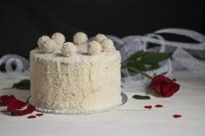 Торт «Рафаэлло» в домашних условиях – очень вкусный и нежный