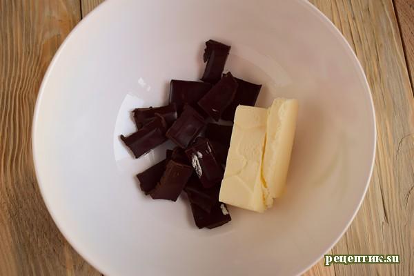 Бисквитный торт с заварным персиковым кремом - рецепт с фото, шаг 20