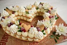 Рецепт медового торта «Сердце»