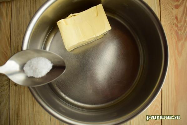 Торт «Спираль» из заварного теста - рецепт с фото, шаг 1