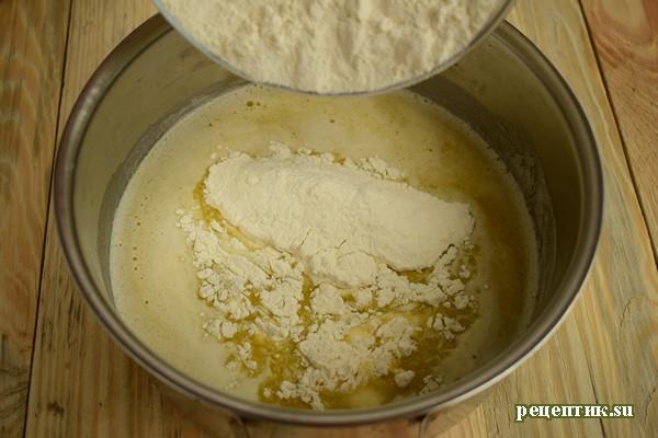 Торт «Спираль» из заварного теста - рецепт с фото, шаг 3