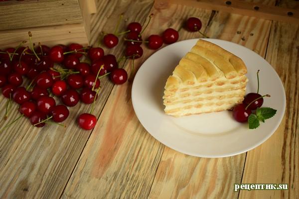 Торт «Спираль» из заварного теста - рецепт с фото, шаг 15