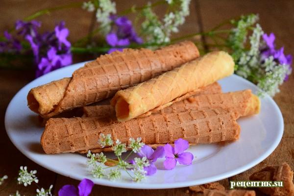 Вафли на сливочном масле - рецепт с фото