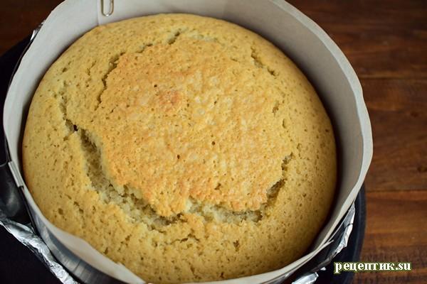 Винный торт с черносливом и шоколадом - рецепт с фото, шаг 6