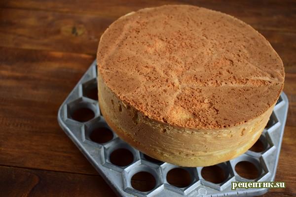 Винный торт с черносливом и шоколадом - рецепт с фото, шаг 7