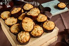 Рецепт самых вкусных творожных кексов с цукатами