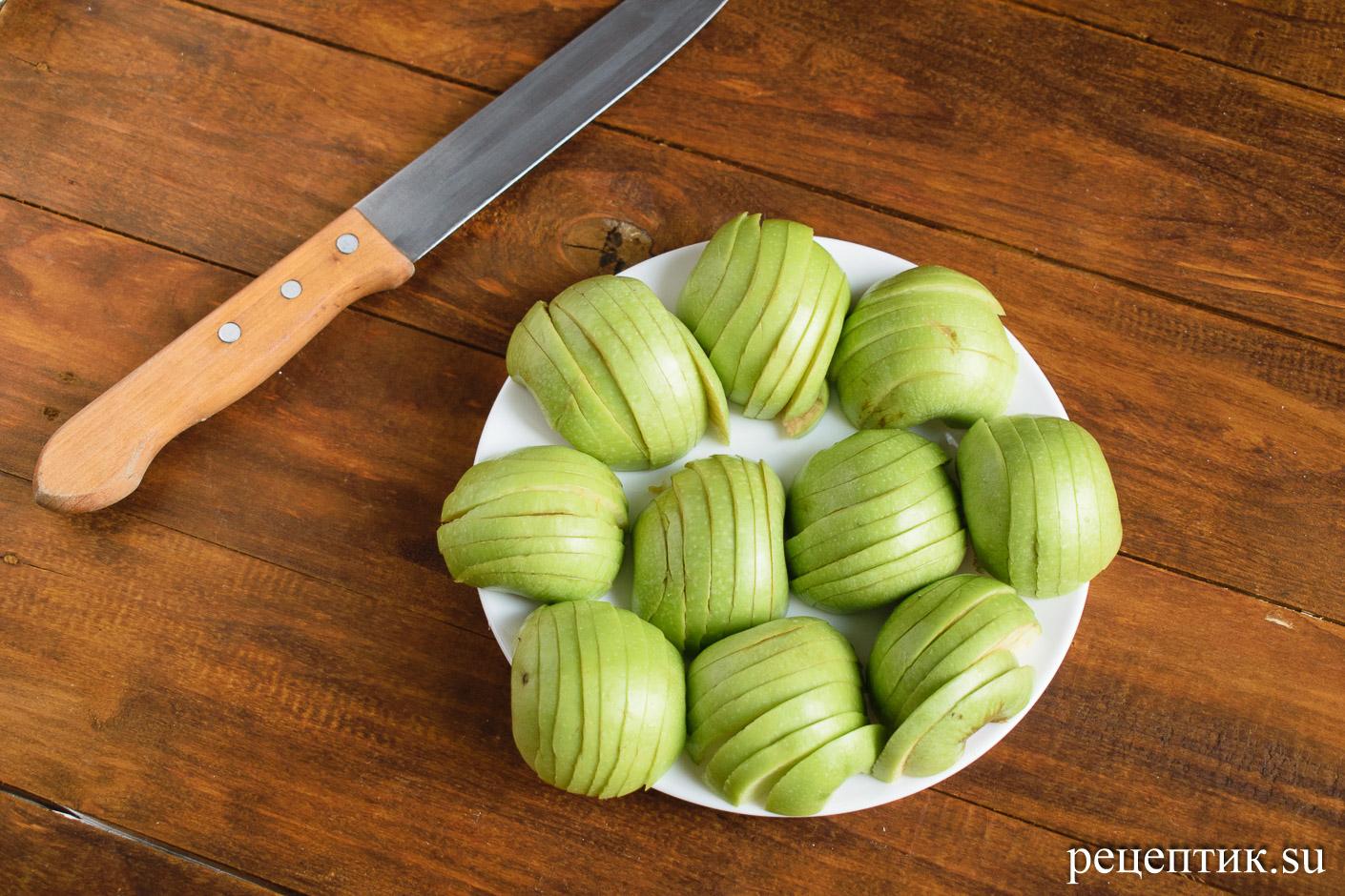 Яблочный кекс - рецепт с фото, шаг 5