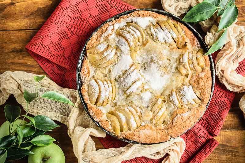 Рецепт яблочного кекса