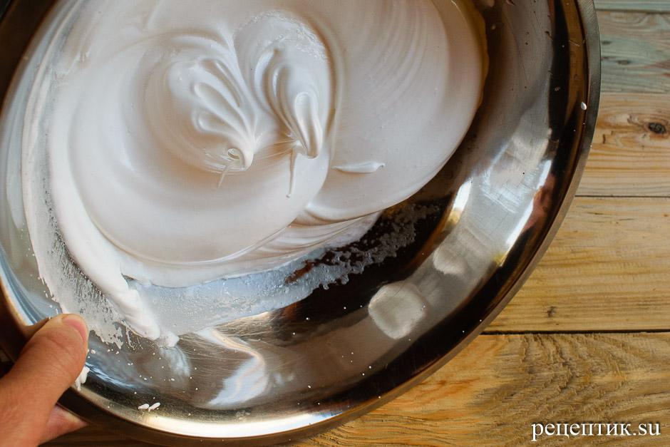 Бисквитный пирог-перевертыш с яблоками - рецепт с фото, шаг 6