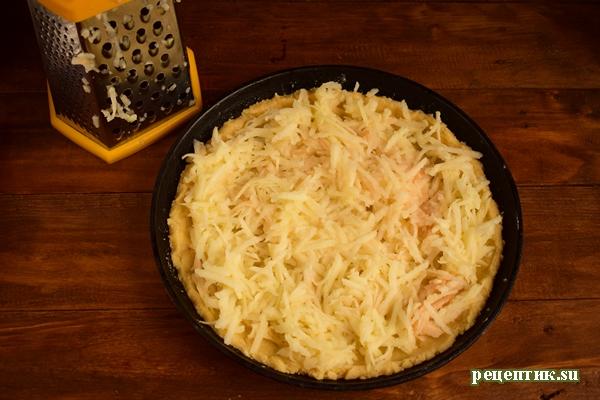 Песочный яблочный пирог с безе - рецепт с фото, шаг 10