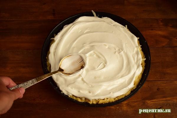 Песочный яблочный пирог с безе - рецепт с фото, шаг 11