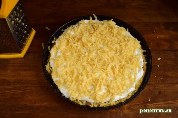 Песочный яблочный пирог с безе - рецепт с фото, шаг 12