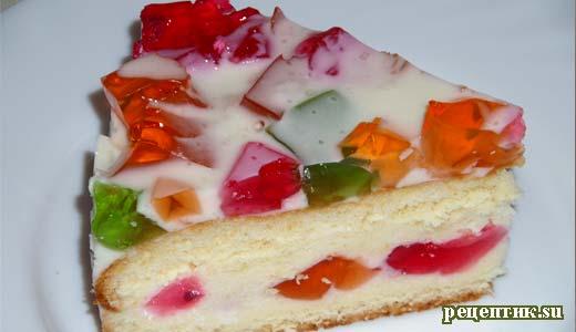 рецепт торт битое стекло с фото